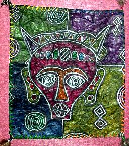 African Mask Batiks   Ms. Amsler's Artroom