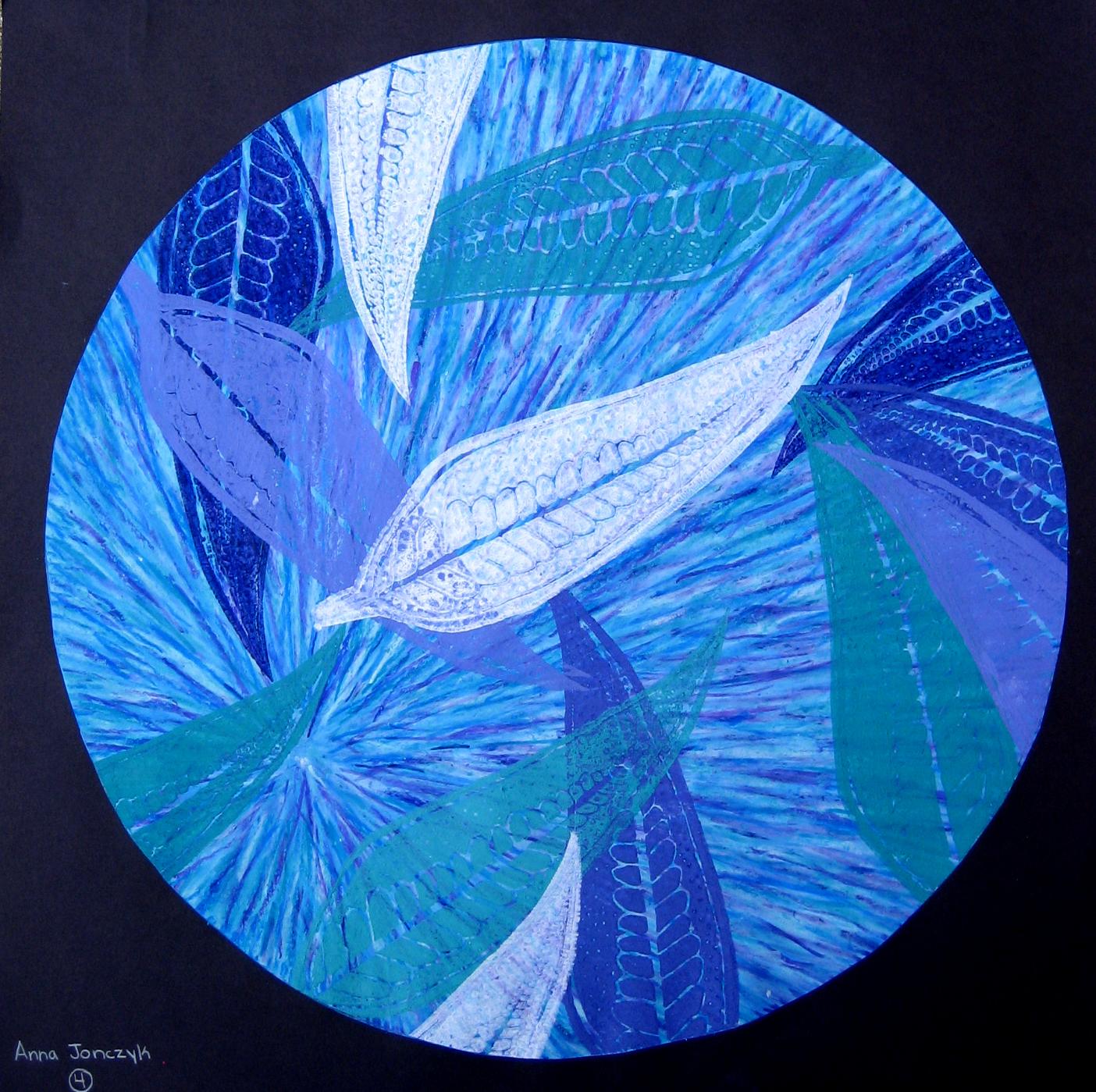 Circular Nature Prints Ms Amsler S Artroom