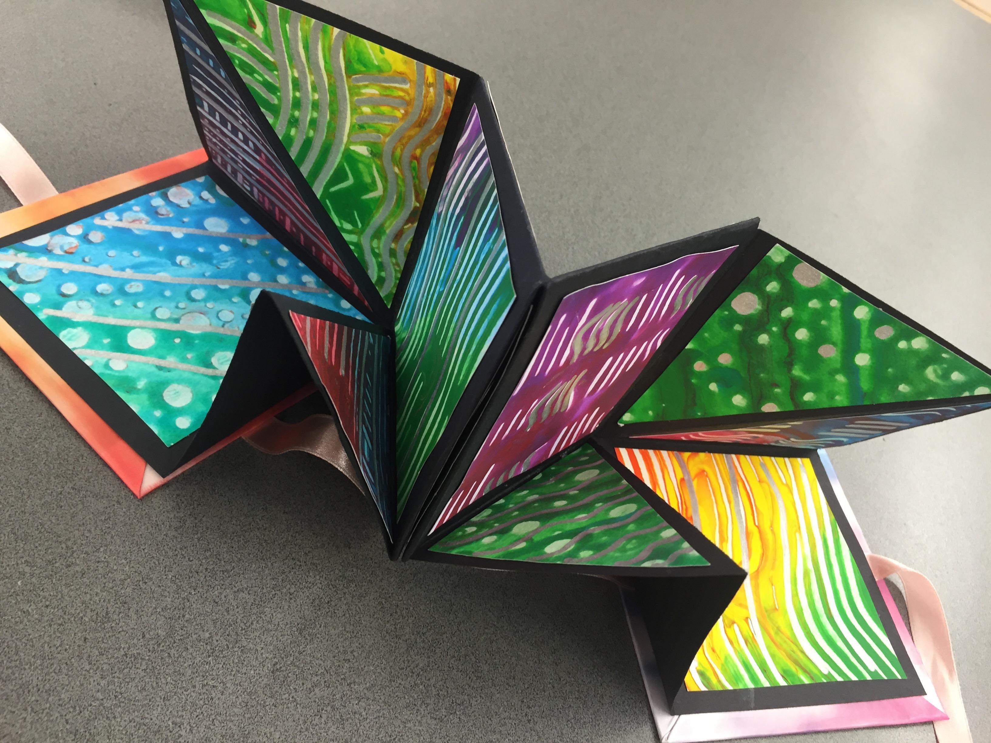 Explosiona Book Art Project